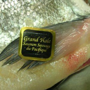 Bague d'authenticité du saumon sauvage