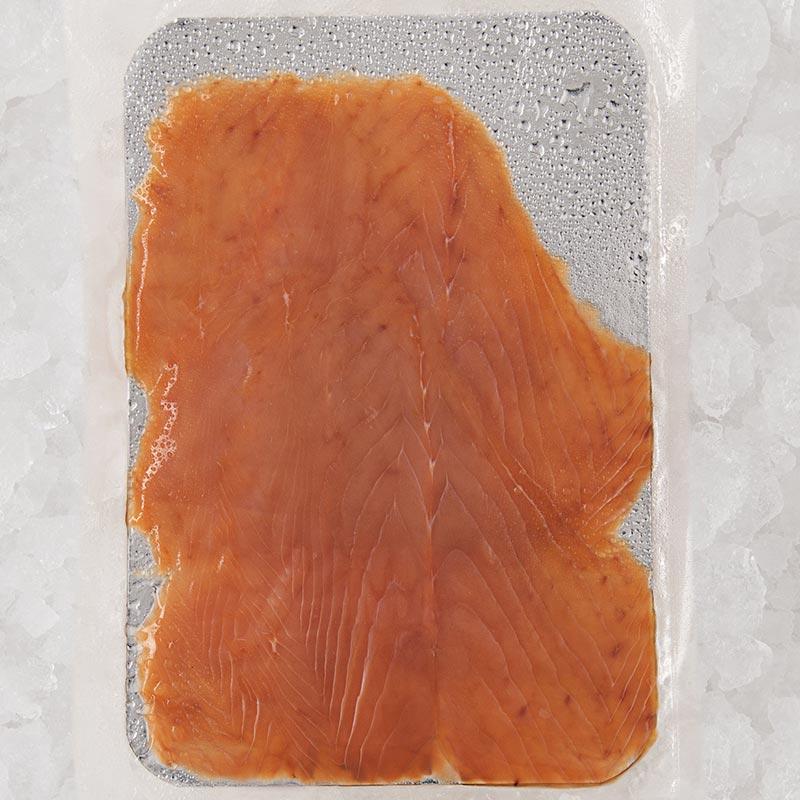 4 tranches de Saumon sauvage fumé, pêché dans le Pacifique
