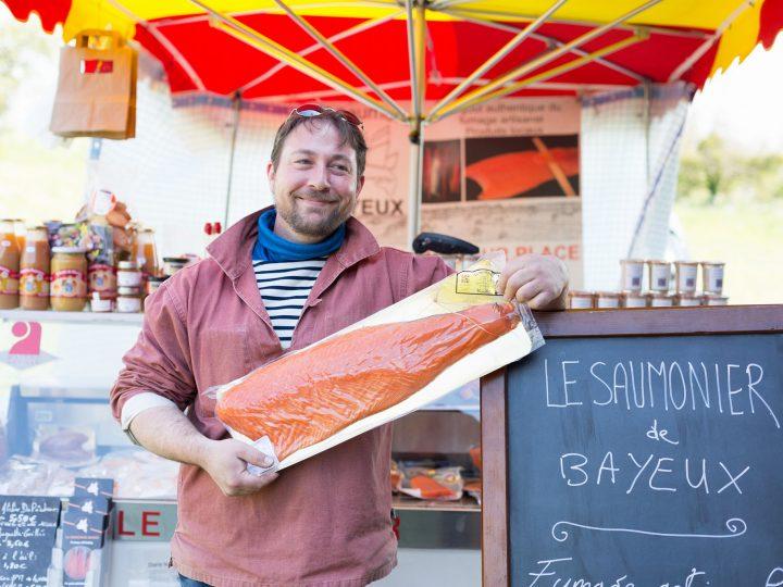 Le Saumonier Bayeux sur France Bleu Normandie – On cuisine ensemble