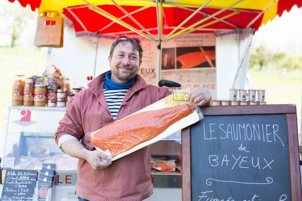 On cuisine ensemble FB Normandie 20.04.2017 avec Jean-Marc LEDOT, Saumonier de Bayeux