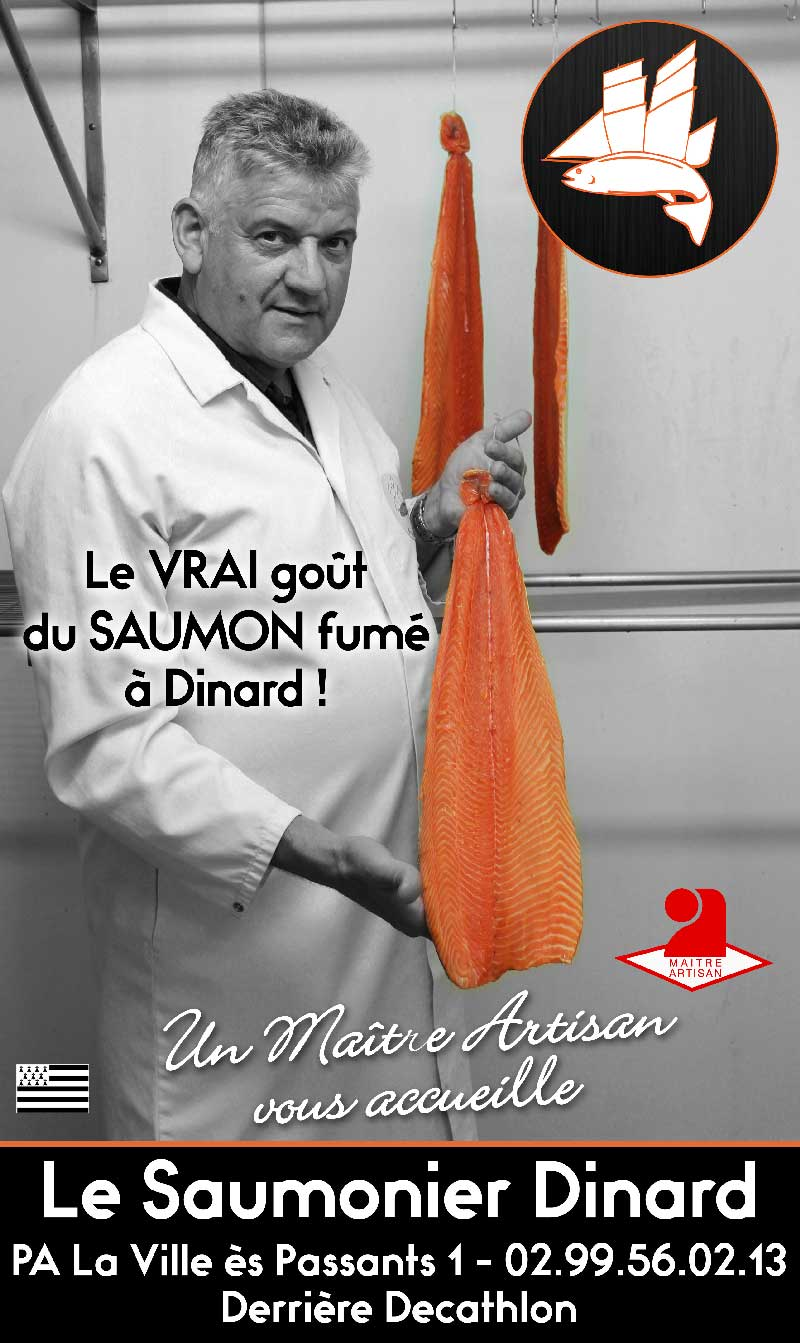 La Gazette de Dinard : Interview de Le Saumonier Dinard