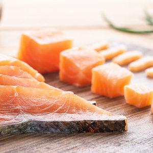 composition saumon fumé