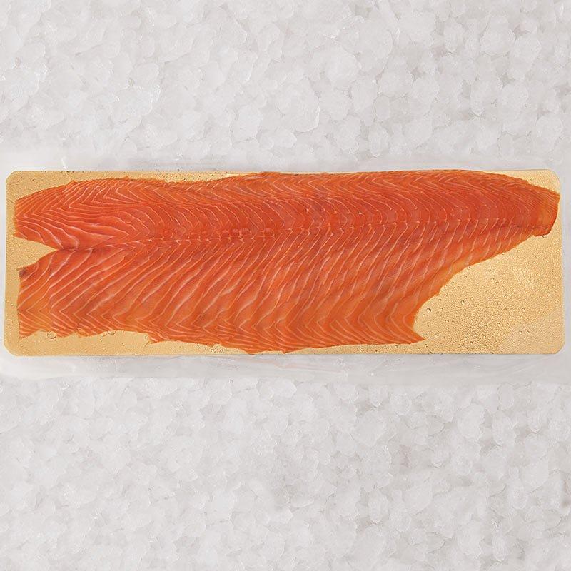 15 Tranches de saumon fumé élevé en Écosse