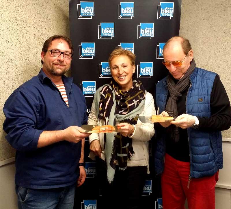 France Bleu Normandie : Le Saumonier Bayeux - On cuisine ensemble