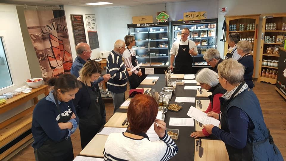 Atelier cuisine à Granville: Le bulot Terre et Mer