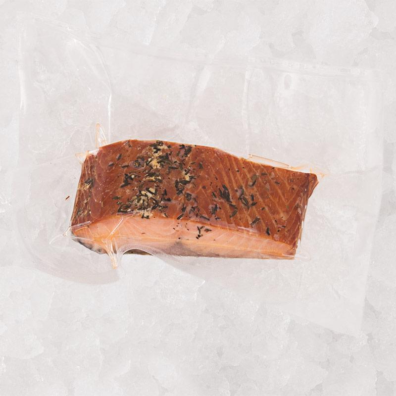 Saumon miel thym
